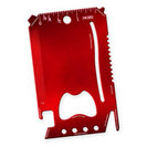 12 Function Wallet Tool - Red