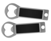 Metal Bottle Opener / Tab Opener Black